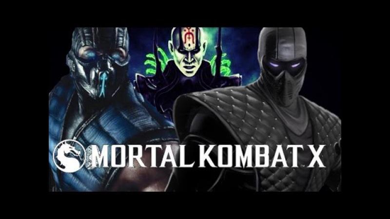 Mortal Kombat X: Sub-Zero identity, Noob Saibot (Bi-Han) or Cyber Sub-Zero (Kuai Liang)