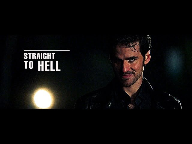 Straight To Hell || (OUAT) Hook/Jefferson/Peter