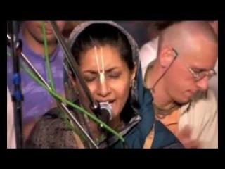 Hare Krishna Hare Ram Bhajan fron Russia Satsang Pranams Mahatma Brahmachary Krishananda