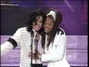 Michael Jackson and Janet Jackson at the Grammys 1993 - Cute Moment - HD