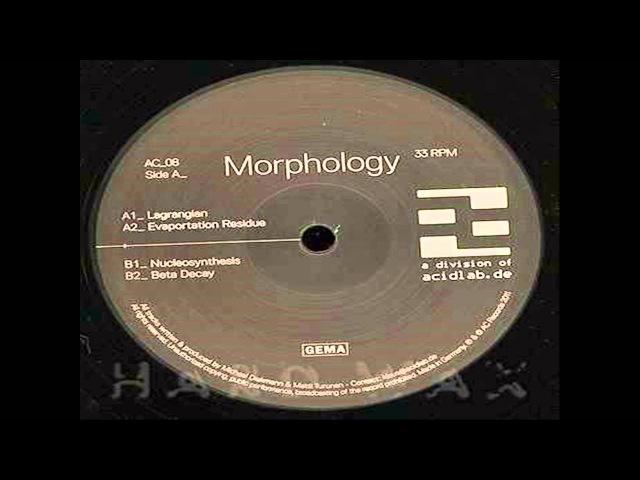 Morphology - Evaportation Residue
