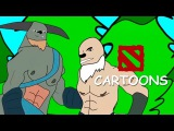 Трогательная история про кентавров от Godhunta Годханта Twitch Animated / Dota 2 Cartoons