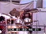 Jimi Hendrix Buddy Miles at Newport on June 22, 1969