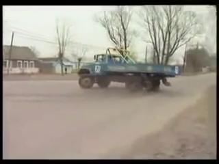 Гонки грузовиков, дрифт на ЗАЛ 131, Тюнинг зил