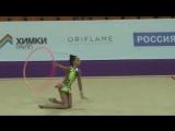Дина Аверина обруч Гран-При 2014