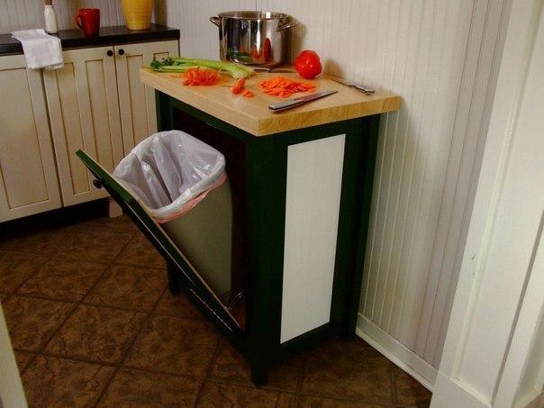 Функциональная идея для кухни (1 фото) - картинка