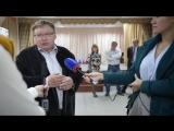2015.09.13 - Ивановский район - Голосует губернатор Павел Коньков