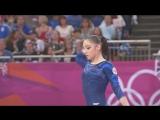 ОИ 2012. Индивидуальное многоборье. Алия Мустафина - вольные упражнения