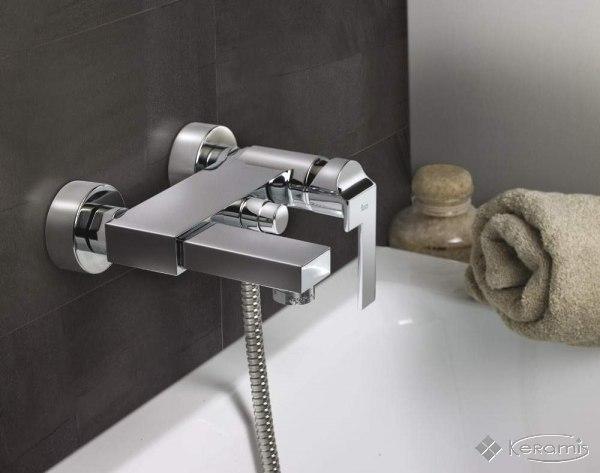 смеситель на ванну