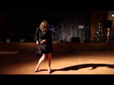 2015.12.27  STS New Year Party - Cabaret  Полина Новожилова