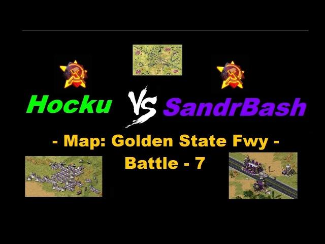 Hocku Vs SandrBash - Golden State Fwy (Battle-7)
