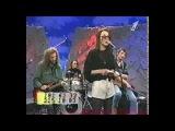 Наталия Медведева в программе Подъем, 1996 ведущая Настя Рахлина