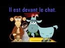 Où est le chat - alain le lait - prépositions - French prepositions