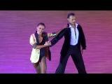 Slavik Kryklyvyy &amp Karina Smirnoff Showcase 1 Kyiv Open 2015 Славик Крикливый и Карина Смирнова