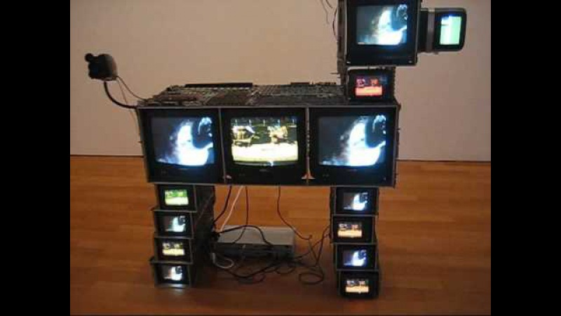 Nam June Paik at James Cohan, NYC (April 2009)