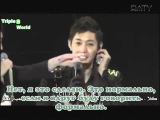 rus sub Kim Hyun Joong Break Down showcase with SS501 members part 3 arc
