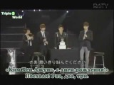 rus sub Kim Hyun Joong - Break Down showcase with SS501 members part 1