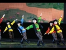 Dance Russian folk. Комарики. Экситон Елены Барткайтис.