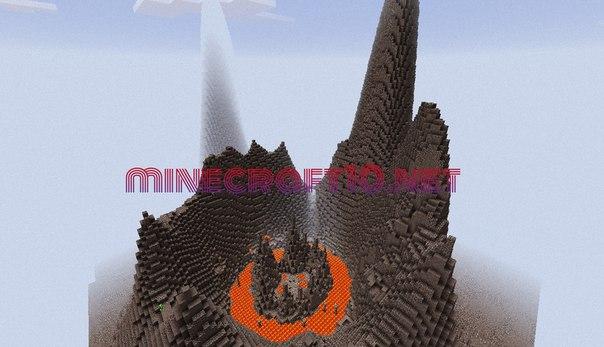 Карта Volcanic [Parkour] для Minecraft PE 0.11.1
