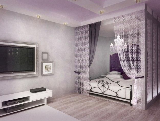Проект и реализация квартиры 36 м в Красноярске.