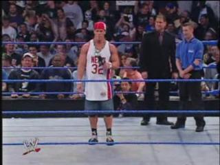 WWE Smackdown 2003-11-13 - Brock Lesnar Big Show vs. John Cena Chris Benoit