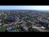 Евпатория 2015 панорама города с высоты птичьего полета
