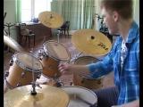 Репортаж с ТНТ-Алексин Школа игры на барабанах