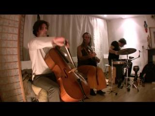 TRIO AYA Full Concert 1_3 - Avi Adir(Bansuri, Bouzouki) Lucas Stam(Cello) Terence Samson(Percussion)