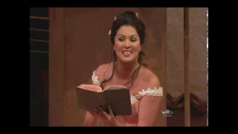 Anna Netrebko - Quel guardo il cavaliere... So anchio la virtu magica ( Gaetano Donizetti )