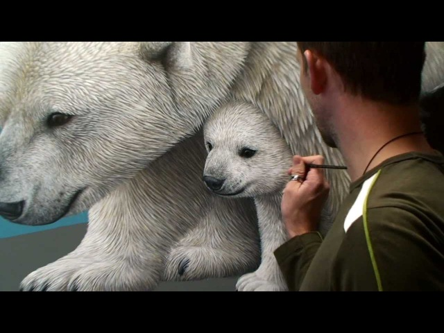 Making of Migration | a painting by Marcel Witte