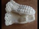 Как связать варежки на двух спицах How to knit mittens on two needles