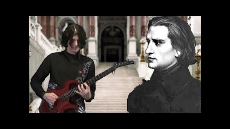 2015 Hungarian Rhapsody No 2 Dan Mumm Franz Liszt Metal Guitar Version