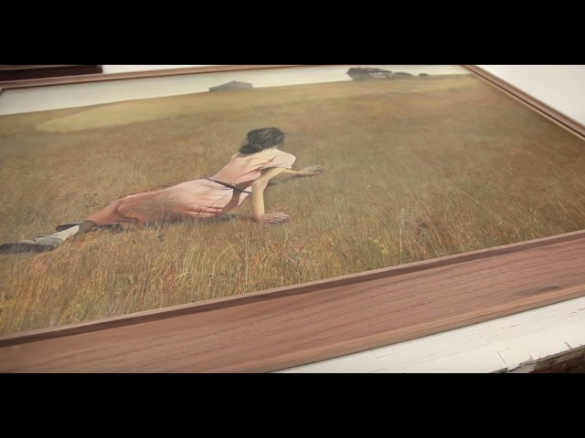 Framing Christina's World by Andrew Wyeth