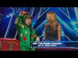 America's Got Talent 2015 S10E01 Piff The Magic Dragon Hilarious Magician