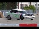 BMW 540i V8 e34 drifting Molinella 2014