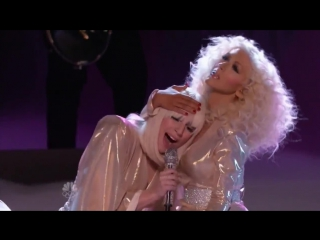 Lady Gaga, Christina Aguilera – Do What U Want (Live @ The Voice USA 2013)
