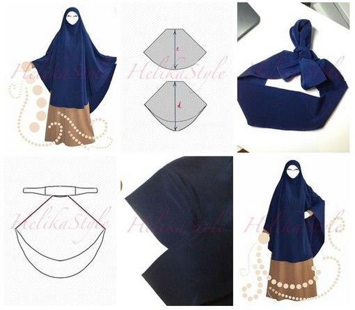 Арабское платье как сшить 4