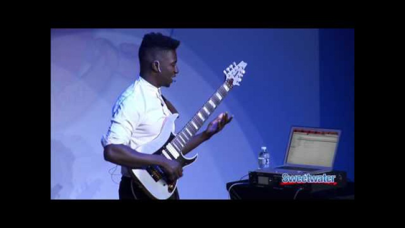 Мастер-класс гитариста Tosin Abasi (Animals As Leaders) /ноябрь 2013/ ЧАСТЬ 1/2