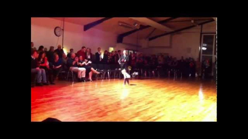 Little William Stokkebroe dancing - just turned 2 years old, son of world champions in latin