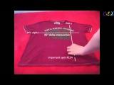 Как сложить футболку за 2 секунды :)