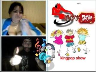 Сиськи и много музыки с Вахтангом в видеочате Чат рулетка Kingpop show Дискотека
