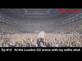 BRIAN TALKS #10 - O2 Saturday night - first 'Pro' Selfie Stick video