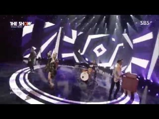 [Hot Debut] 141202 Yery Band - Snow Love @ The Show