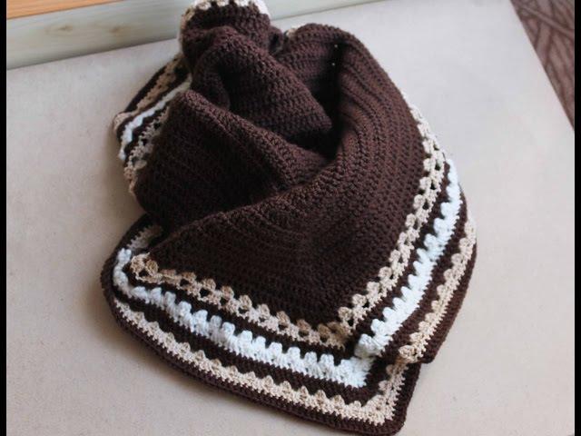 DIYБактус - шарф-платок для зимы