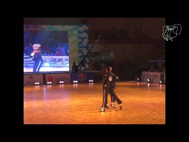 Martino Zanibellato and Michelle Abildtrup, DEN | 2011 WDSF World Freestyle Latin