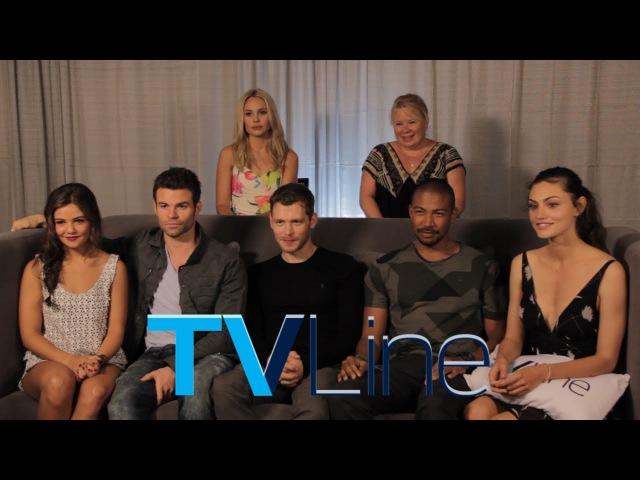 The Originals Interview at Comic-Con 2014 - TVLine
