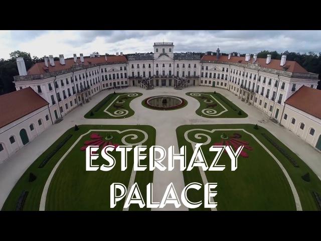 Esterházy Palace From Above - Drone Footage