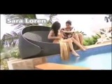 Sara Loren Oopps Moment 'Pakistani actress' live show,oops on live tv