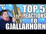 Destiny Funny Top 5 Reactions To Gjallarhorn Drop Episode 78