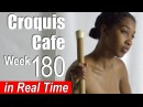 Croquis Cafe: Figure Drawing Resource No. 180